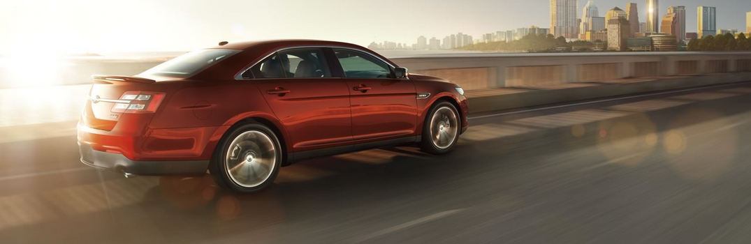Features and Technology on the 2016 Ford Taurus