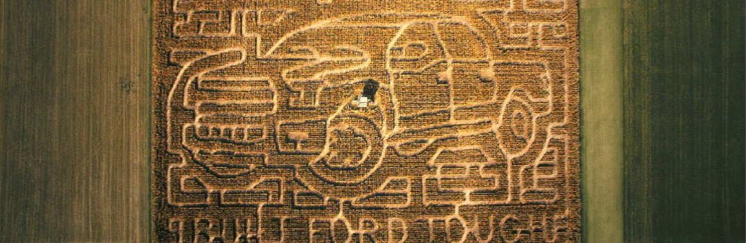 Corn Maze That is Inspired by the new 2016 Ford F-150