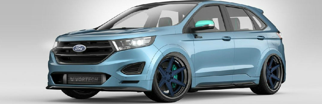 Three Unique Ford Edge Models Coming To Sema In