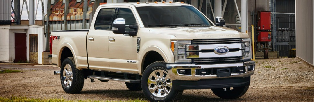 New Technology Features on the 2017 Ford Super Duty