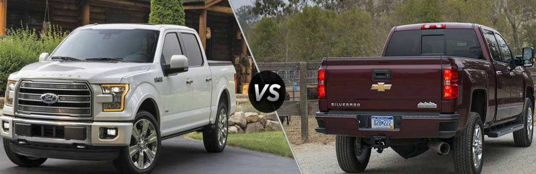 2016 ford f 150 vs 2016 chevy silverado