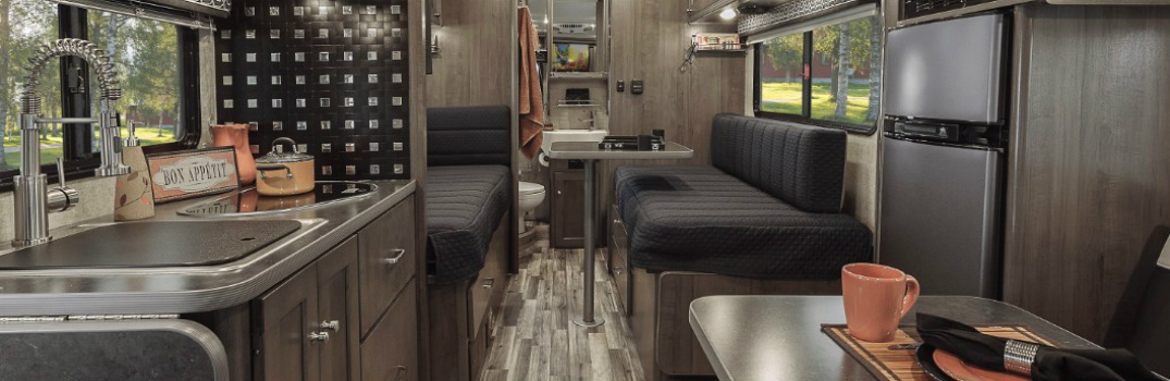 Converting the Ford Transit van Into Motorhomes