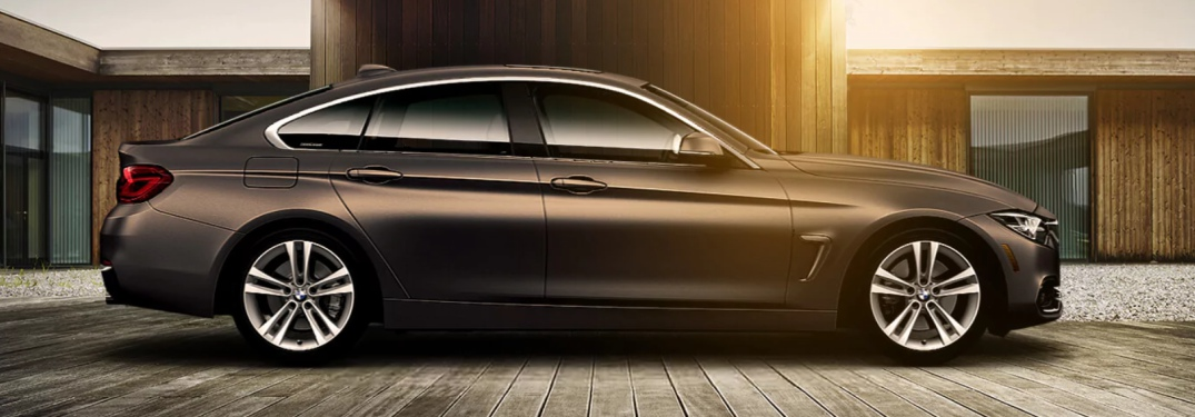 BMW 4 Series side view