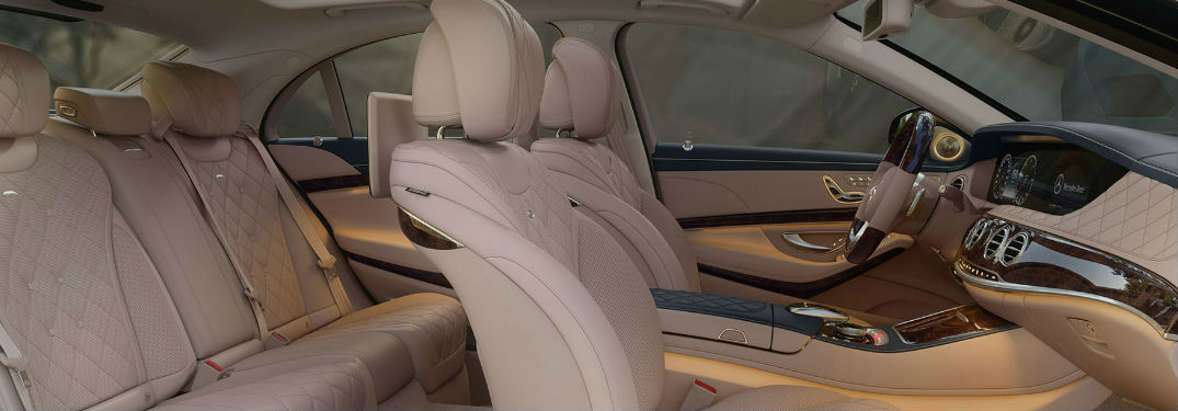 Cutaway View of Mercedes-Benz E-Class Leather Interior