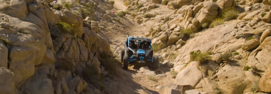 2018 maverick x3 on trail