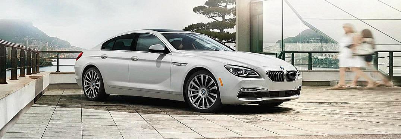 2018 BMW 6-Series white side view