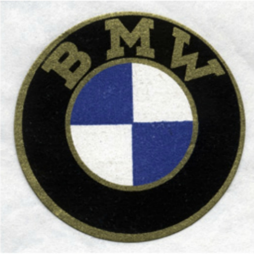 BMW logo from 1917