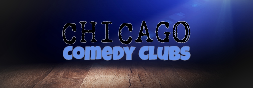 spotlight with Chicago Comedy Clubs text