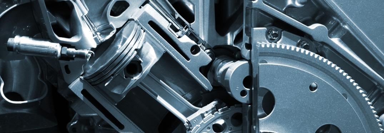 cutaway view of a car engine cylinder