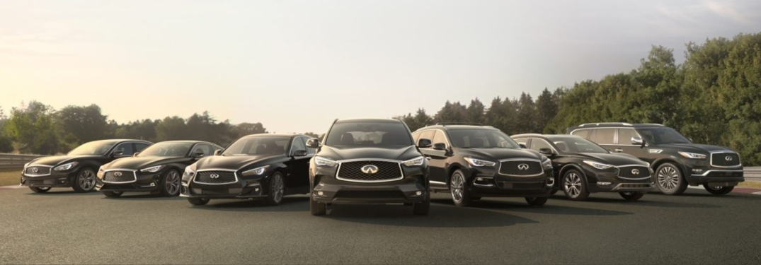 Current models from INFINITI