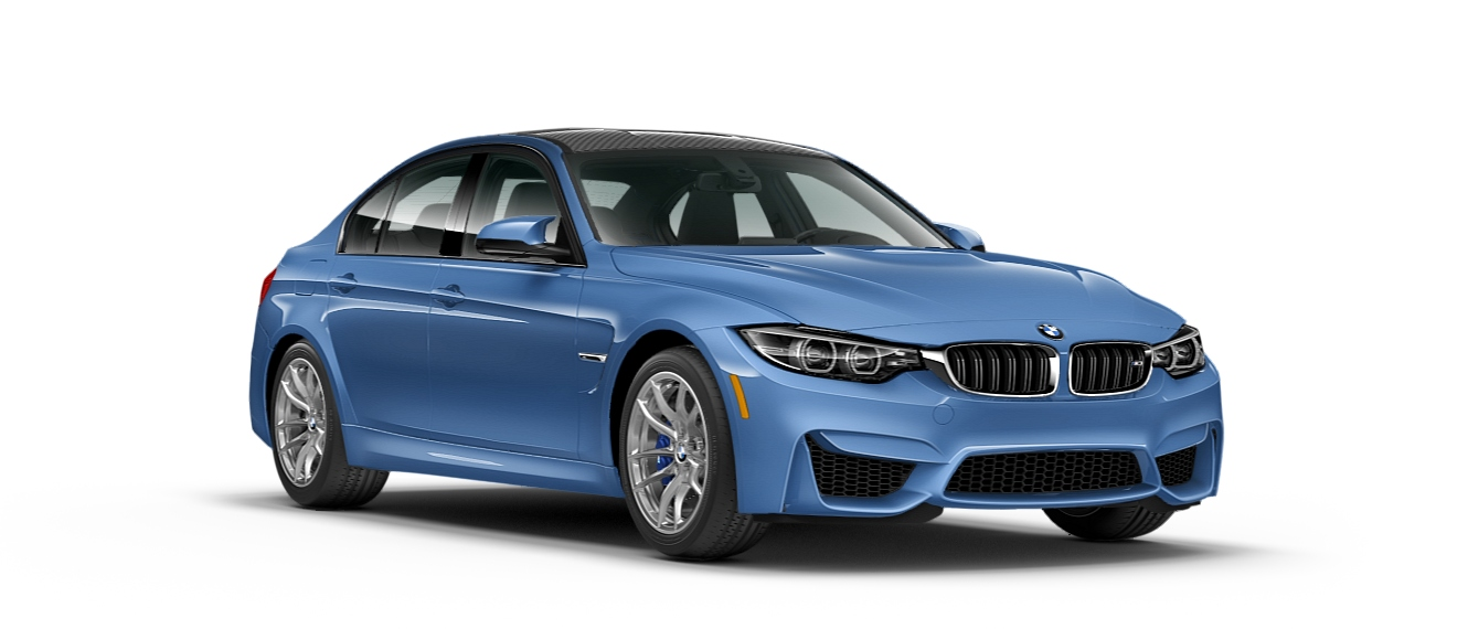 2019 Bmw M3 Blue Side View O Apex Motorworks