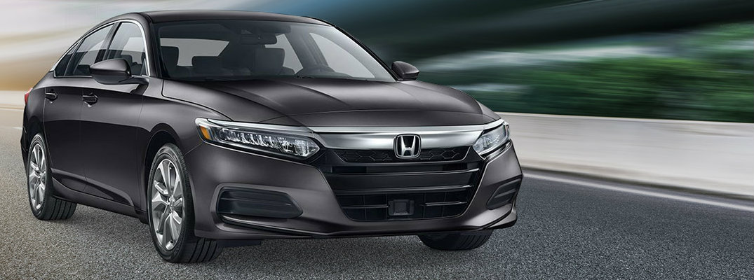 2019 Honda Accord on stylized image of road