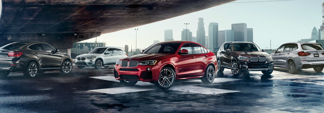 What BMW SUV models are there?