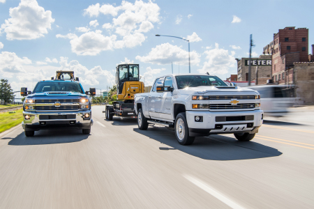 How Much Can The 2018 Chevy Silverado 2500 Tow