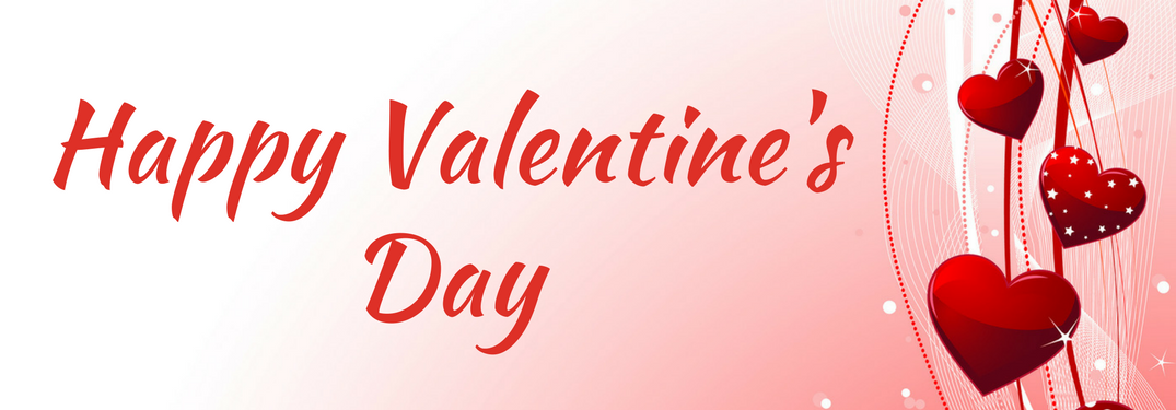 happy valentine's day text over red and white background with cartoon hearts
