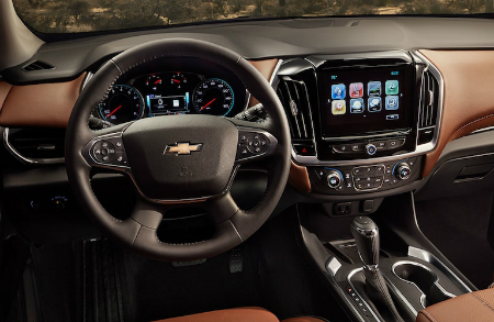 What S New On The 2019 Chevrolet Traverse