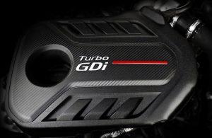 2020 Kia Optima turbocharged engine