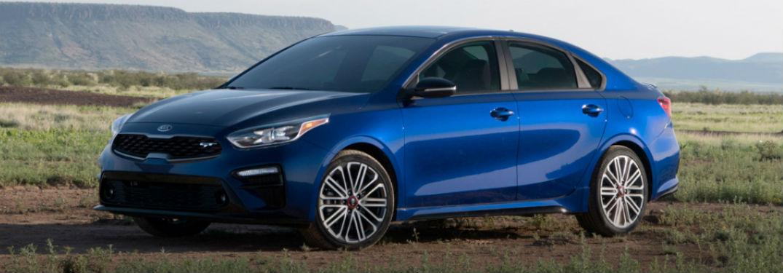 2020 Kia Forte exterior blue front fascia driver side