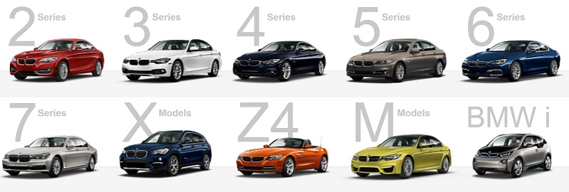 BMW And Its Luxury Generation Models Drive With Pride - All bmw