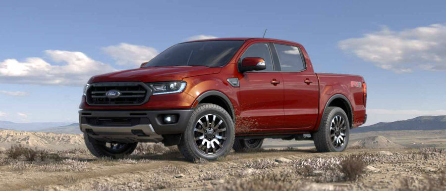 2019 Ford Ranger Color Options | James Braden Ford