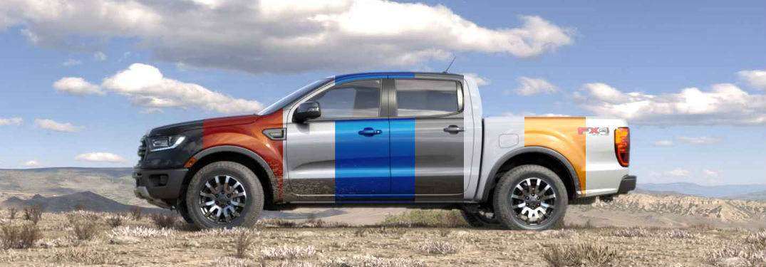2019 Ford Ranger Color Options James Braden Ford