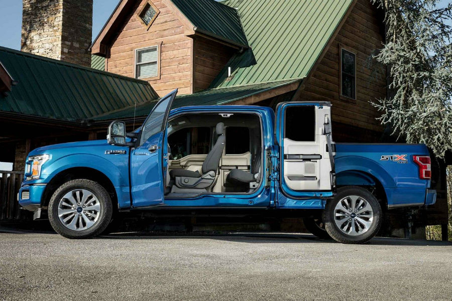 2018 ford f 150 appearance package options by trim level james braden ford. Black Bedroom Furniture Sets. Home Design Ideas