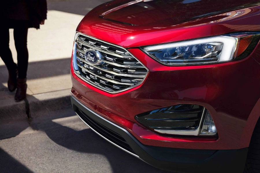 New Grille And Headlights On  Ford Edge