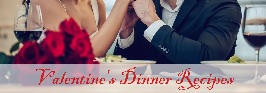couple having dinner with Romantic Dinner Recipes for Valentine's Day