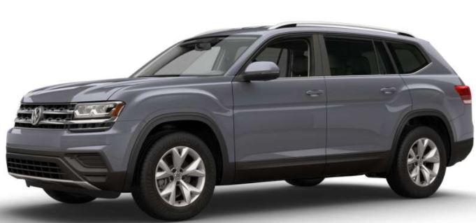 2018 Volkswagen Atlas Platinum Gray Metallic