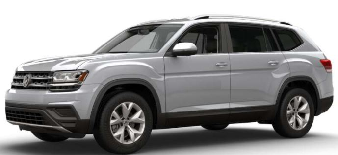 2018 Volkswagen Atlas Reflex Silver Metallic