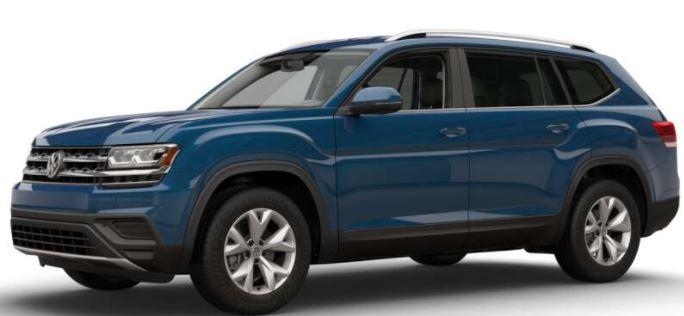 2018 Volkswagen Atlas Tourmaline Blue Metallic