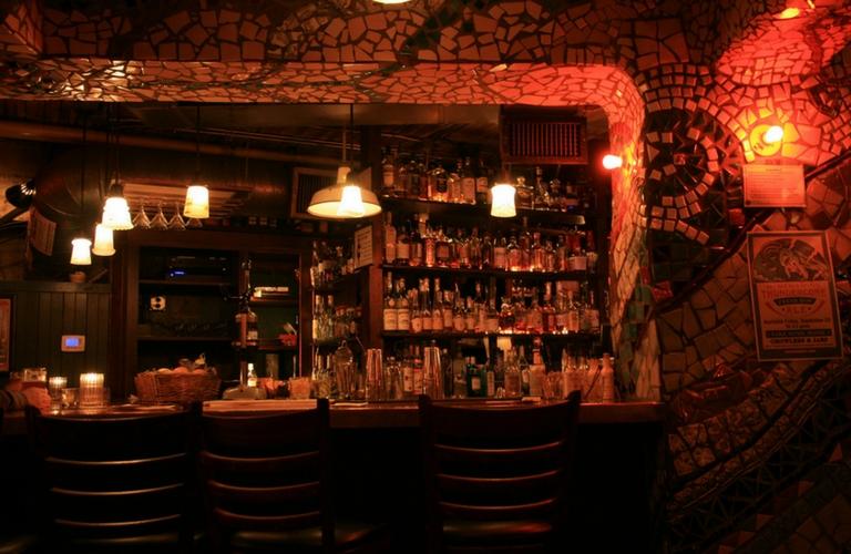 Interior of McMenamins Cellar Bar