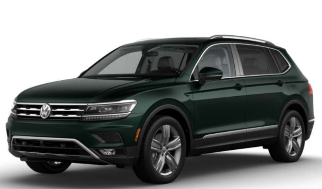 Pure Drive 2018 >> 2018 Volkswagen Tiguan Exterior Color Choices