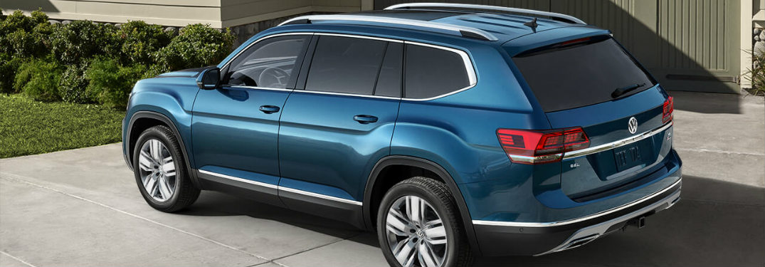 2018 Volkswagen Atlas parked in the driveway