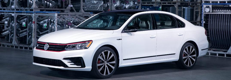 2018 Volkswagen Passat parked indoors
