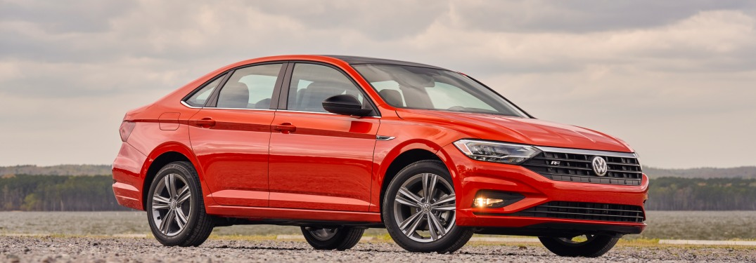2019 Volkswagen Jetta parked on gravel