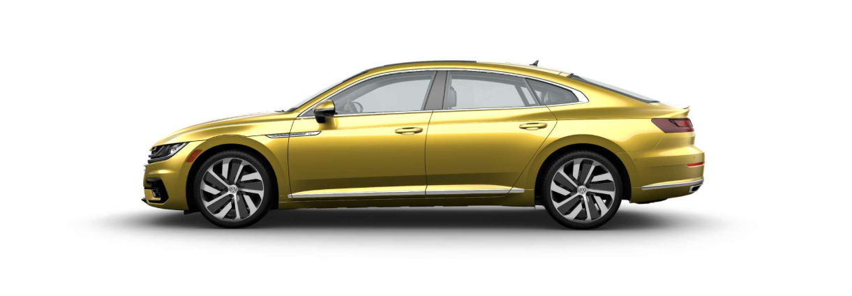 2019 Volkswagen Arteon in Kurkuma Yellow