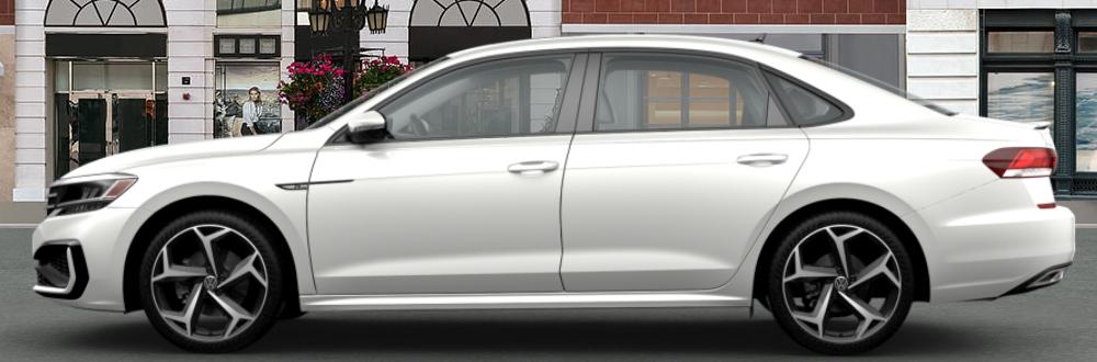 2020 Volkswagen Passat in Pure White