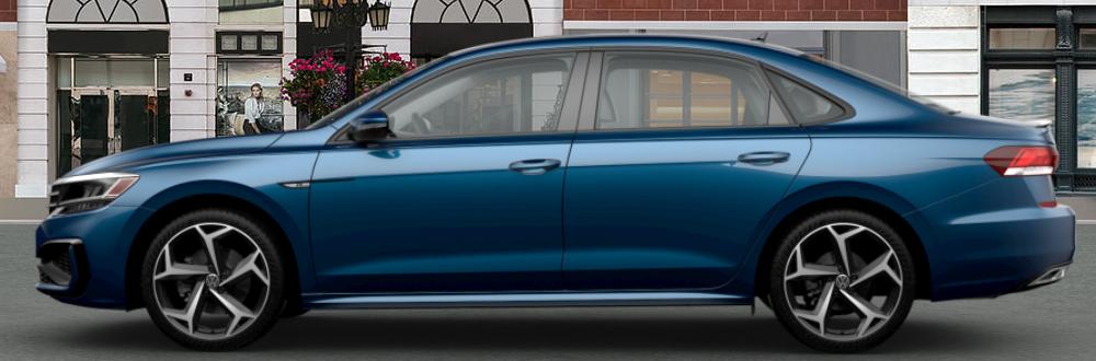 2020 Volkswagen Passat in Tourmaline Blue