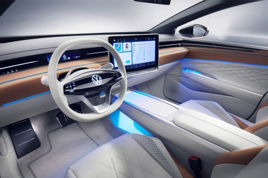 Concept shown of the ID. Space Vizzion interior