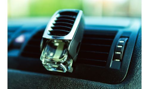 stock photo of air vent air freshener