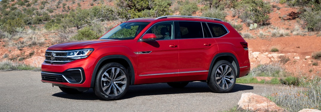 2021 Volkswagen Atlas Color Options