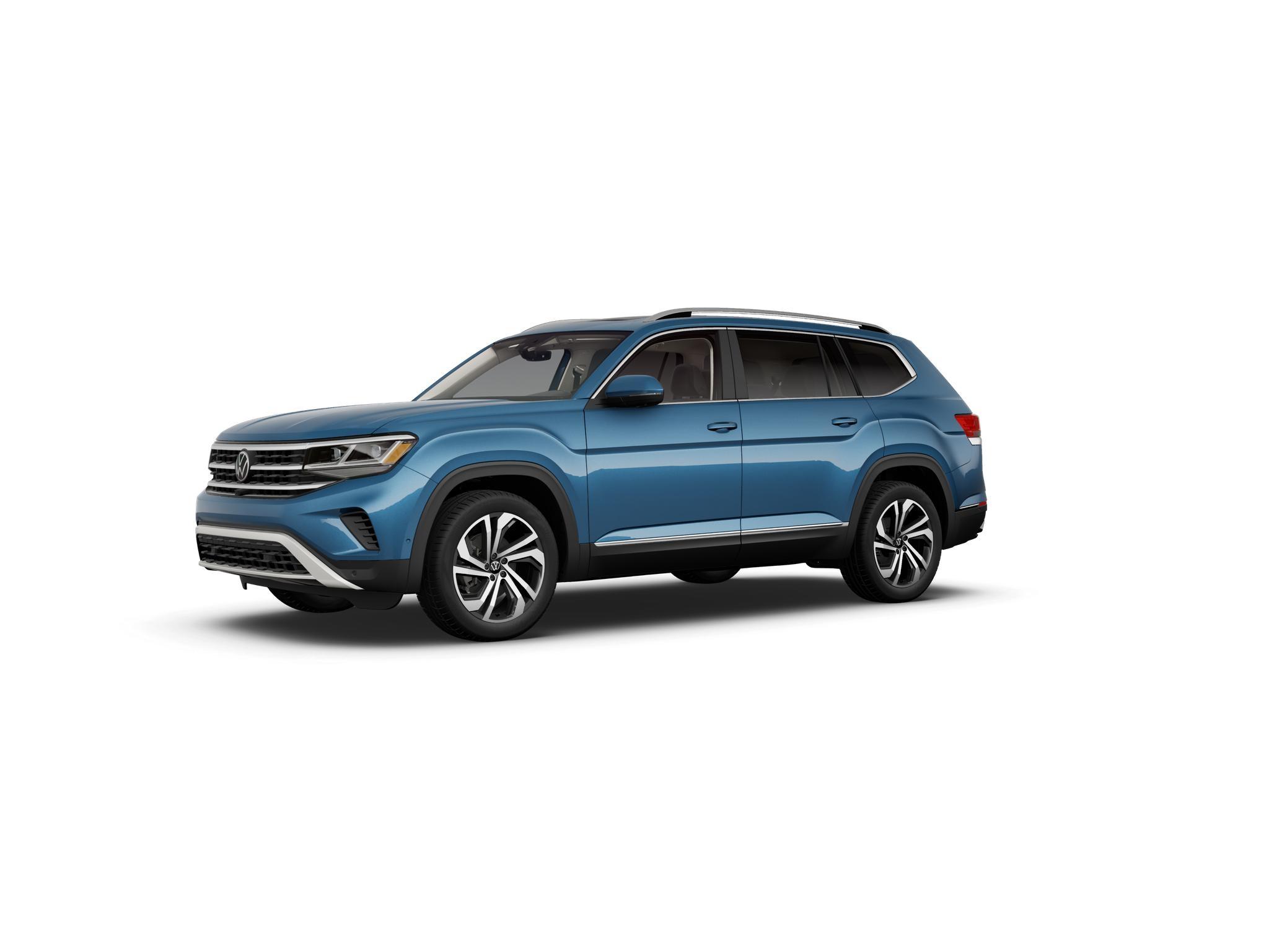 2021 Volkswagen Atlas Pacific Blue