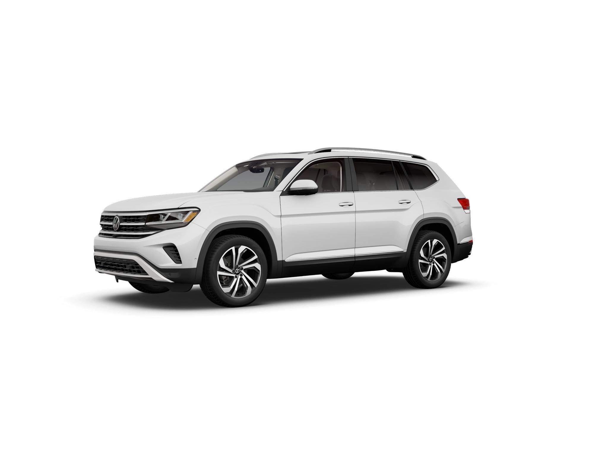 2021 Volkswagen Atlas Pure White
