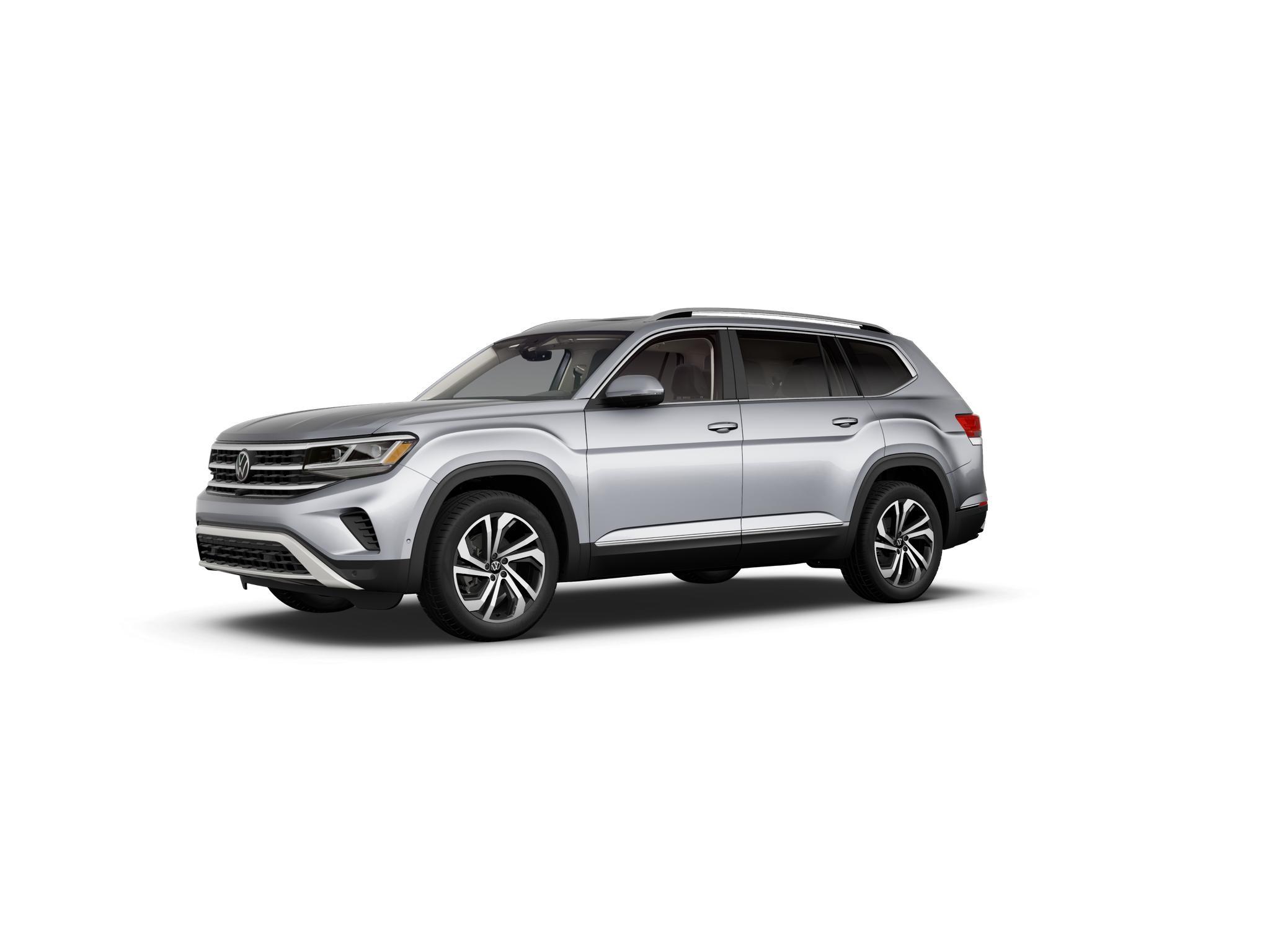 2021 Volkswagen Atlas Pyrite Silver