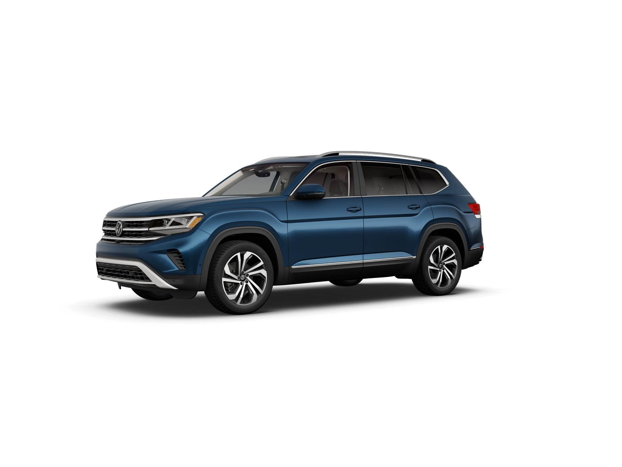 2021 Volkswagen Atlas Tourmaline Blue