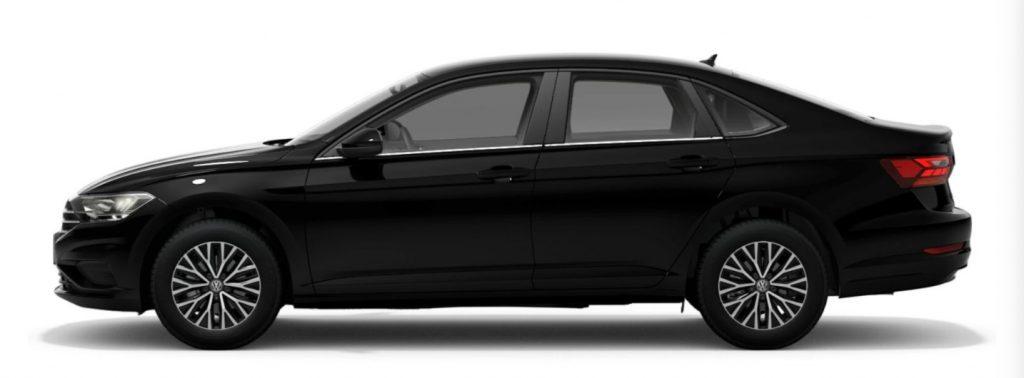 2021 Volkswagen Jetta Black