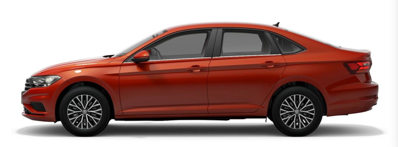 2021 Volkswagen Jetta Habanero Orange Metallic