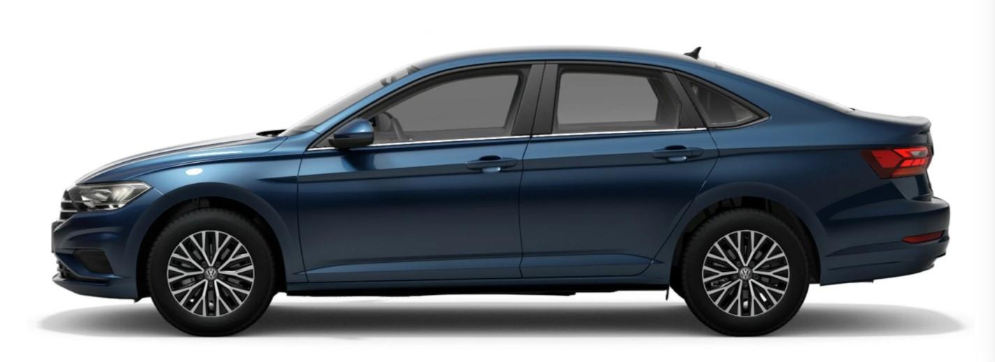 2021 Volkswagen Jetta Silk Blue Metallic