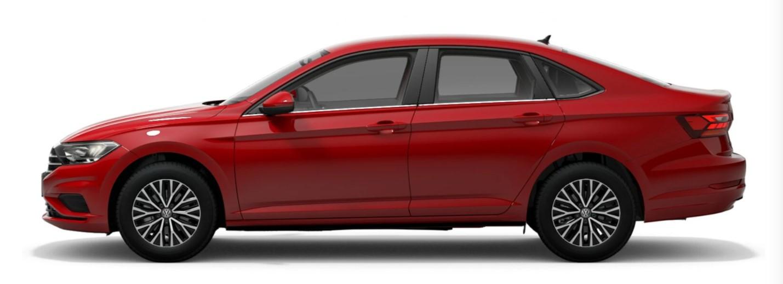 2021 Volkswagen Jetta Tornado Red